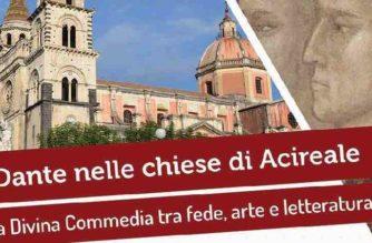 """""""Vergine Madre"""" – Dante nelle chiese di Acireale"""