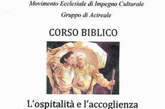 Corso Biblico – L'ospitalià e l'accoglienza nell'Antico Testamento