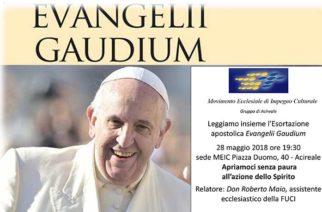 Terzo Incontro sull' Evangelii Gaudium di Papa Francesco – MEIC