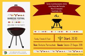 """""""Barbecue Festival"""" nella parrocchia Maria SS Immacolata di Fiumefreddo"""