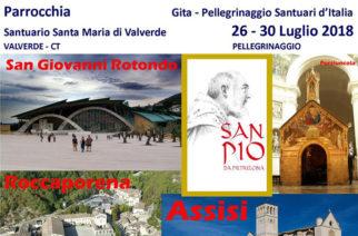 PellegrinaggioSantuari d'Italia –da San Pio a San Francesco d'Assisi a S. Rita
