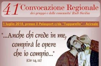 Rinnovamento nello Spirito Santo – Convocazione Regione Sicilia