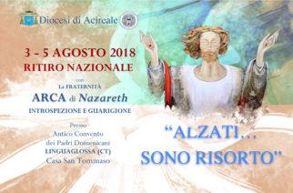 Ritiro Nazionale – Fraternità Arca di Nazareth