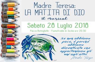 Il musical su Madre Teresa a Fiumefreddo