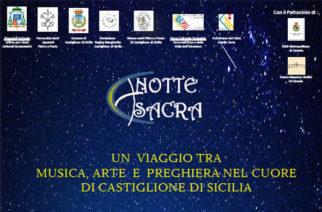 Notte Sacra – Un viaggio tra musica, arte e preghiere a Castiglione di Sicilia
