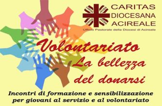 """CARITAS:""""Volontariato, la bellezza del donarsi"""""""
