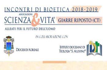 Incontri di Bioetica