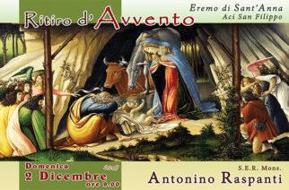 Ritiro d'Avvento dettato da Mons. Antonino Raspanti