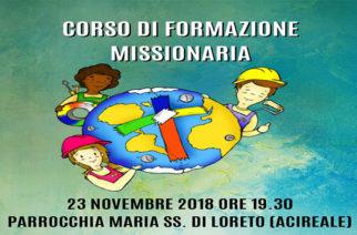 Corso di Formazione missionaria