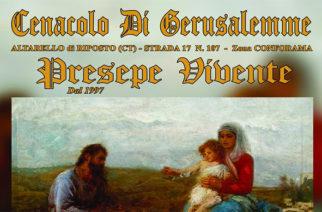 Presepe vivente al Cenacolo di Gerusalemme in Altarello