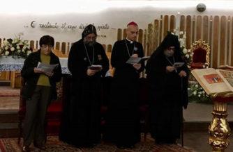 """Mons. A.Raspanti """"Ecumenismo: dialogo di amicizia per il consolidarsi di intese"""""""