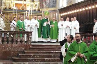 """Il Vescovo A.Raspanti: """"I Ministeri verso il diaconato permanente valorizzano i carismi nella Chiesa"""""""