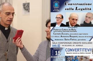 """Il Vescovo A.Raspanti: """"Prendere le distanze dalla mafia per essere riammessi nella comunione della Chiesa e con Dio"""""""