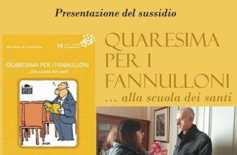 """Mons. A. Raspanti: """"Un sussidio per meditare in Quaresima"""""""