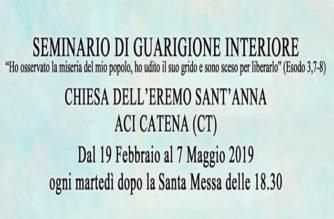 Seminario di Guarigione Interiore – Eremo di Sant'Anna