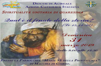 Azione Cattolica, Giornata di Spiritualità di Quaresima