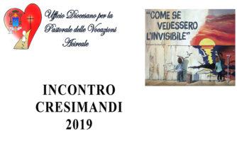 Incontro Cresimandi 2019