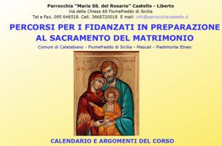 Percorso di preparazione al sacramento del Matrimonio