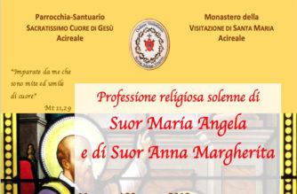 Monastero della Visitazione – Professione religiosa solenne