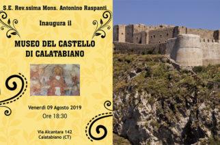 Museo del Castello di Calatabiano – Inaugura il Vescovo A. Raspanti