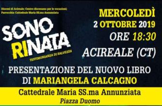 """Presentazione del libro """"Sono Rinata"""" di Mariangela Calcagno in Cattedrale"""