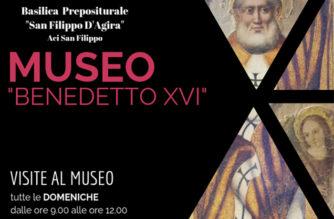 Museo Benedetto XVI nella Basilica di Aci San Filippo