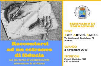 Seminario di formazione per gli assistenti sociali e volontari