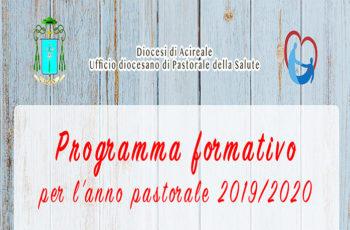 Ufficio pastorale della Salute_Programma Formativo