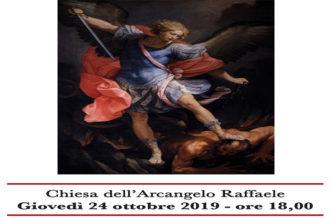 Conferenza sugli Angeli nella chiesa dell'Arcangelo Raffaele in Acireale