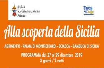 """Gita """"Alla scoperta della Sicilia"""""""