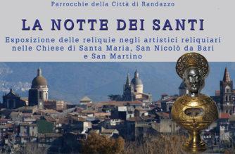"""""""La Notte dei Santi"""" – A Randazzo esposizione delle Reliquie"""