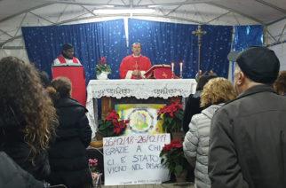 Fiaccolata nel giorno dell'anniversario del Terremoto di Santo Stefano