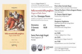 Presentazione del testo del Can. Giuseppe Russo