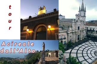 """Tour """"Acireale dall'alto"""": la terrazza della Grotta ed il campanile della Cattedrale"""