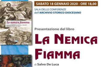 """Presentazione del libro """"La Nemica Fiamma"""" di Salvo De Luca"""