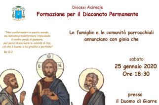 In cammino verso il Diaconato Permanente