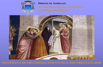 Veglia di Preghiera per l'Unità dei Cristiani, presiede il vescovo Raspanti