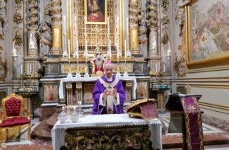 Omelia del vescovo Raspanti_5ª Quaresima, 29 marzo 2020