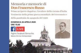 Dagala del Re. Memoria e memorie di don Francesco Russo