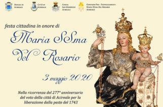 La festa della Madonna del Rosario nella città di Acireale