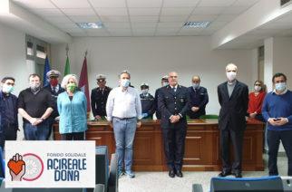 """Covid-19. I Vigili Urbani offrono tremila euro al comitato """"Acireale dona"""""""