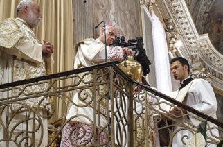 Martedì 26 maggio, la celebrazione della Santa Messa Crismale in diretta streaming