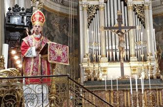 """Il vescovo Raspanti: """"Nella Pentecoste lo Spirito Santo è strumento di unione tra il genere umano"""""""
