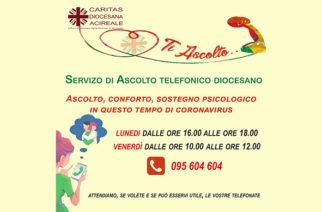 La Caritas attiva un Centro di Ascolto Telefonico