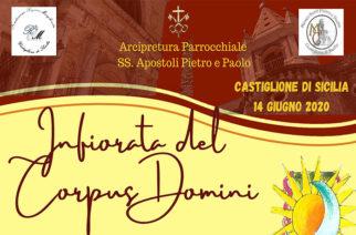 Castiglione di Sicilia, Infiorata del Corpus Domini