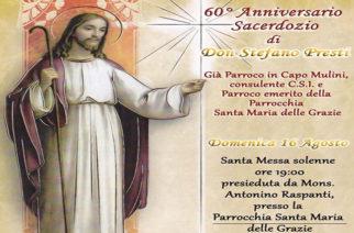 60° di sacerdozio di don Stefano Presti