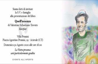 """Acireale, Presentazione del testo """"Quell'assenza"""" a Villa Pennisi"""