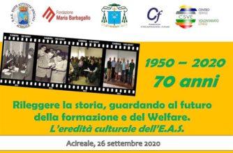 Acireale, 70 anni dell'Ente Attività Sociali