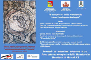 """Nunziata di Mascali, """"Il comlpesso della Nunziatella tra archeologia e teologia"""""""