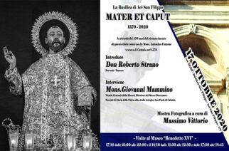 """450° anniversario, la Basilica di Aci San Filippo """"Mater et Caput"""""""